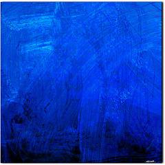 ...blue water...