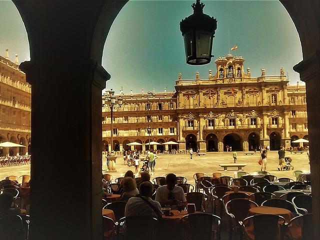 Salamanca, Plaza Mayor.