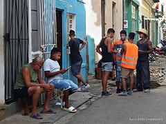 street scene in La Habana/Cuba