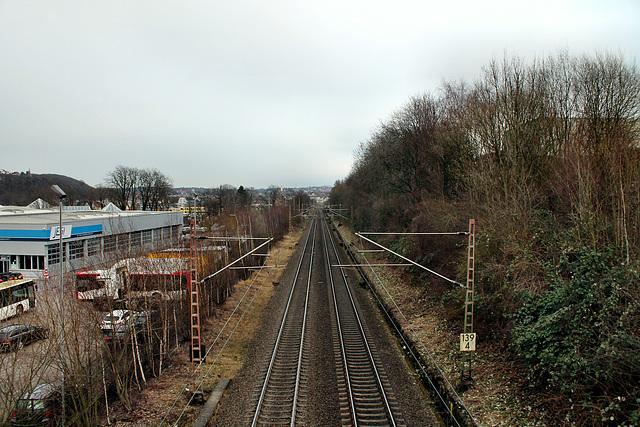Bahnstrecke Wuppertal-Elberfeld–Dortmund (Hagen-Haspe) / 26.02.2017