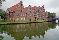 Germany - Lübeck,  Salzspeicher