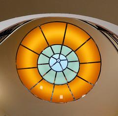 """Das """"Auge""""= Oberlicht im Treppenhaus (PiP)"""