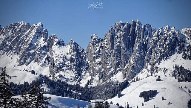 mountain ruggedness
