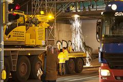 Brückendemontage Gutenbergstraße