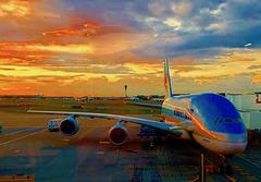 A380 at Heathrow