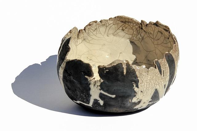 Drei Schalen aus Raku Keramik (2xPIP)