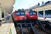 Sintra 2018 – Trains waiting to return to Lisbon