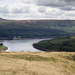 Ladybower from Crook Hill