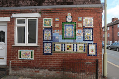 Tiles and mosaic, Ludlow
