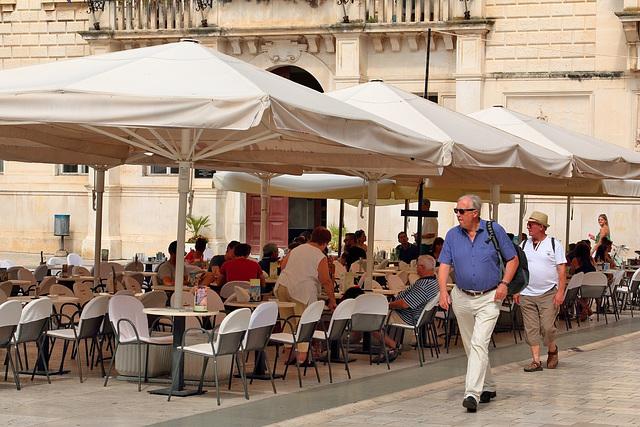 Zadar - Terrasse am Volksplatz