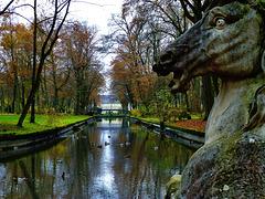 Im Schlosspark von Bayreuth - In the Bayreuth castle park