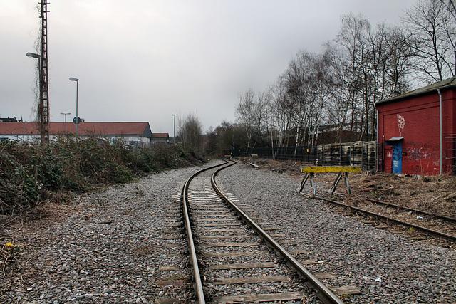 Industriegleise, vormals Ennepetalbahn (Hagen-Haspe) / 26.02.2017