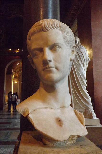 Caligula from Thrace in the Louvre, June 2013
