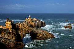 Rocher de la Vierge - Biarritz