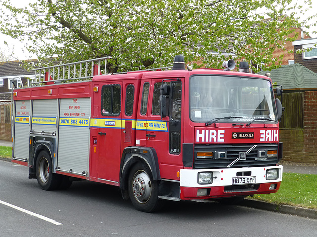 Hire Engine in Lee on Solent - 24 April 2015