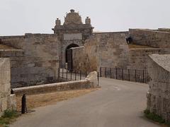 La Mola Fortress (1873).
