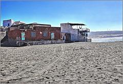 At the beach of Tifnit