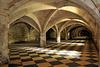 Le cellier de l'abbaye du Moncel - Oise