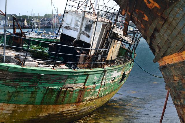 Cimetière de bateaux Camaret sur mer