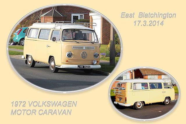 1972 Volkswagen Motor Caravan - East Blatchington - 17.3.2014