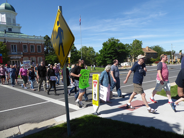 March for Truth, June, 2017