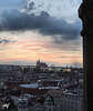 outlook to the prague castle