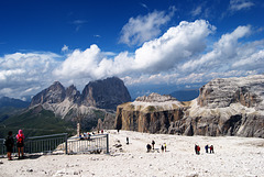 La terrazza delle Dolomiti