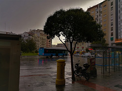 Another one of a wet Madrid. We got off lightly here.