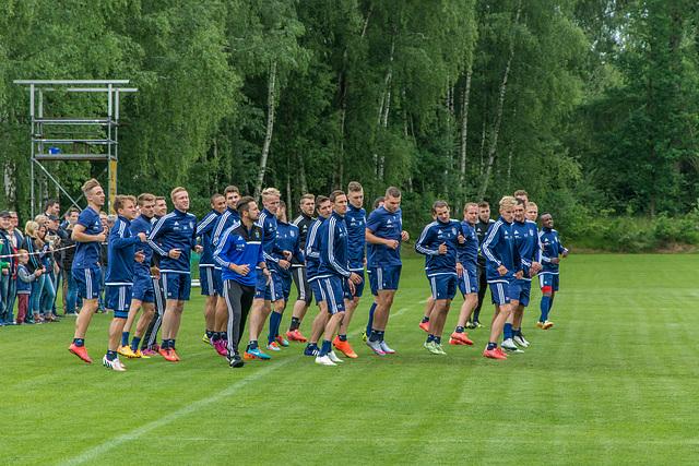 (172/365) Chemnitzer FC, erste Trainingseinheit der neuen Saison 2015 /2016