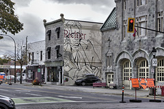 Homage to Mordecai Richler – Laurier at Saint-Laurent, Montréal, Québec, Canada
