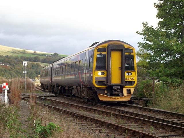 158707 at Dingwall Junction
