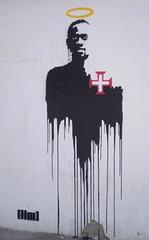 Stencil with Éder.