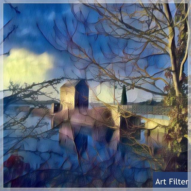 Le moulin à marée de Beauchet avec Art Filter