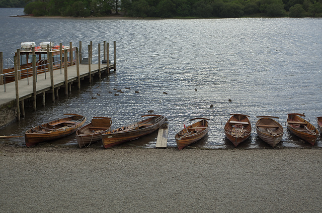 Boats at Derwentwater