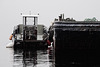 Small Tug Boat And Barge