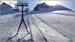 Zermatt : le piste da sci sopra i 3000 mt. sono perfette