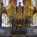 Die Barockorgel von St. Mang in Füssen - The baroque organ of St. Mang in Fuessen - mit PiP