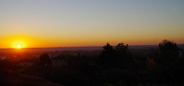 Le soleil se lève !