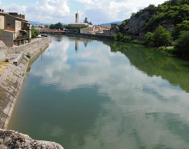 Rivière La Payre du Pouzin en Ardèche