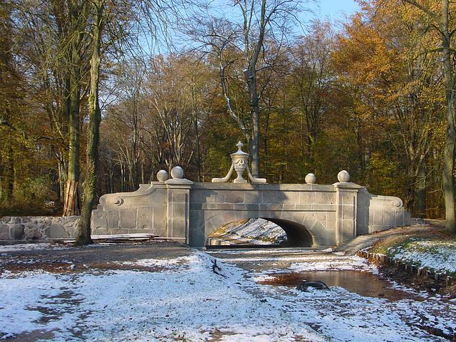 Ludwigslust, Schlosspark, Steinerne Brücke