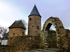 DE - Rheinbach - City wall and witch tower