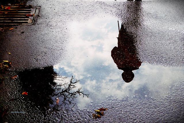 Der Himmel ist ins Wasser gefallen