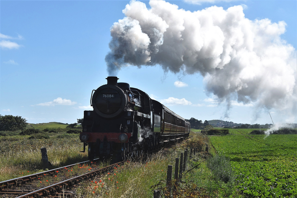 Steam trains are running again!!