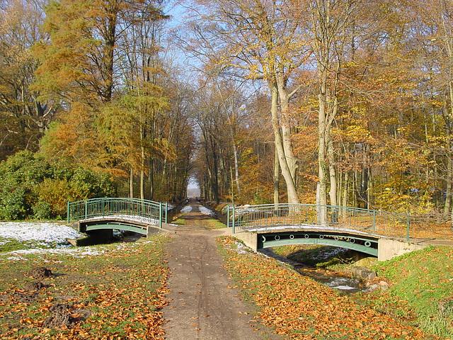 Ludwigslust, Schlosspark, zwei Brücken
