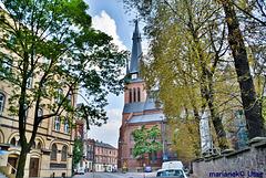 St. Maria - Magdalena - Kirche in Chorzów Stary ( Alt Königshütte)