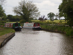Boats on the canal.