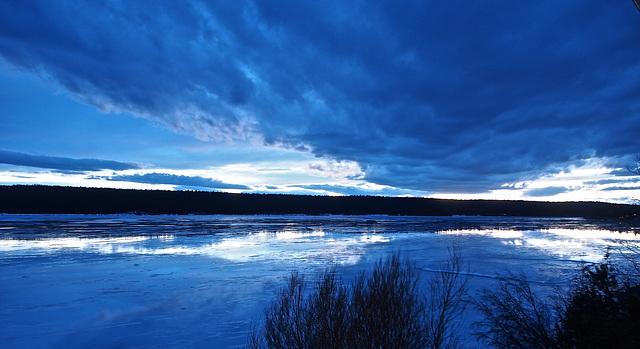 Lac La Hache - Evening shot.