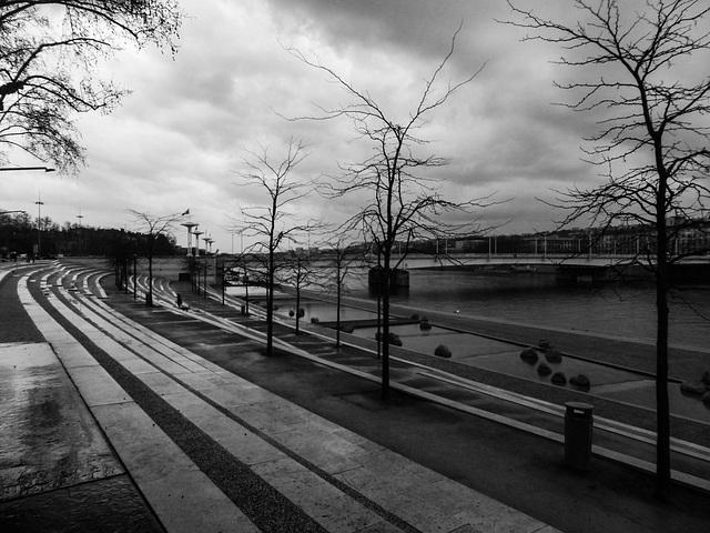 Lyon - rive gauche du Rhône