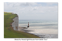 Beachy Head lighthouse from Belle Tout 12 7 2016