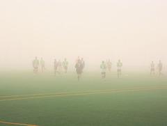 Nieblas en Santander.
